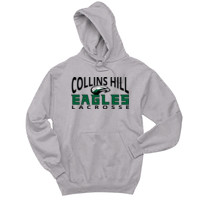 Eagles - 996 Jerzees Adult 8oz. 50/50 Pullover Hooded Sweatshirt